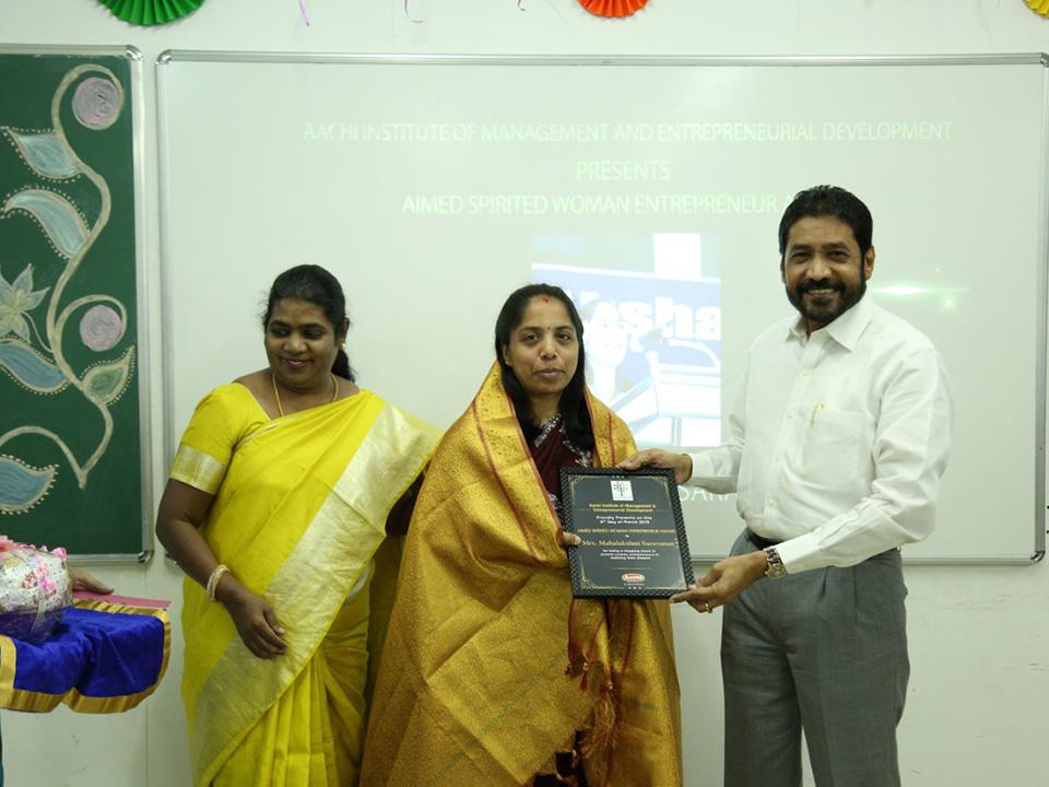Mahalakshmi Saravanan Women Entrepreneur in India